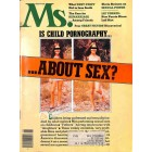 Cover Print of Ms. Magazine, August 1977