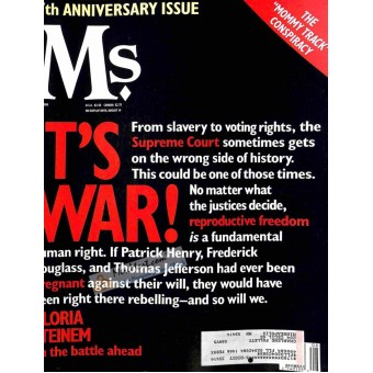 Cover Print of Ms. Magazine, August 1989