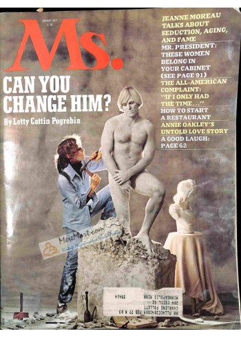 Cover Print of Ms. Magazine, January 1977