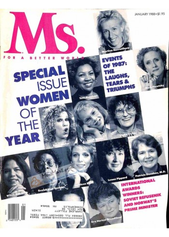 Cover Print of Ms. Magazine, January 1988