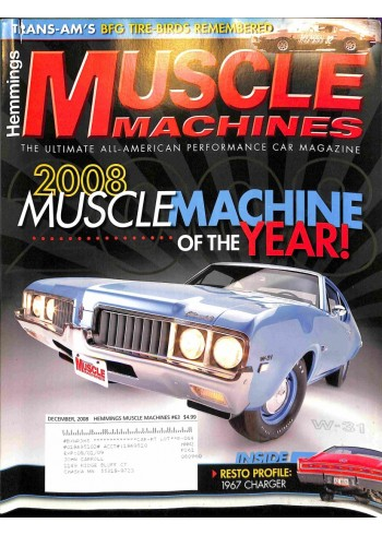 Muscle Machines, December 2008