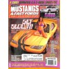 Cover Print of Muscle Mustangs and Fast Fords, April 2002