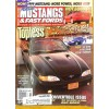 Cover Print of Muscle Mustangs and Fast Fords, November 1998