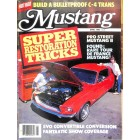 Mustang, April 1986