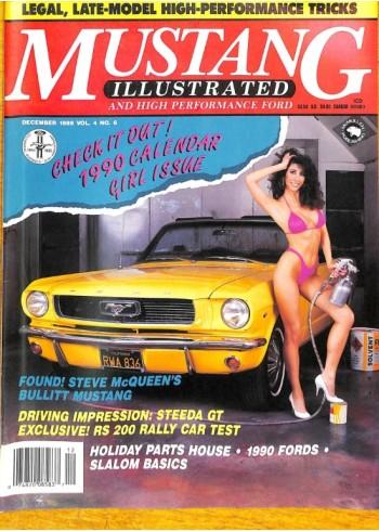 Mustang Illustrated, December 1989