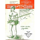 Cover Print of Muzzle Blasts, April 1953
