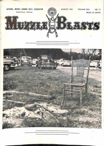 Cover Print of Muzzle Blasts, August 1961