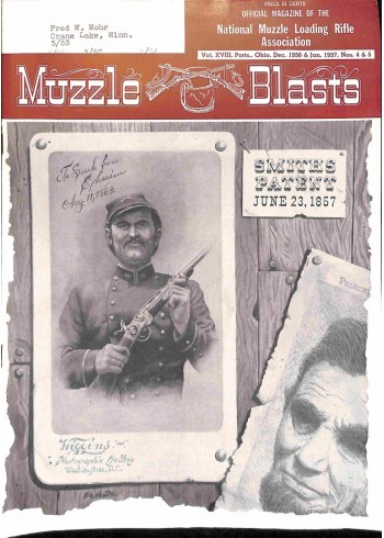Muzzle Blasts, December 1956