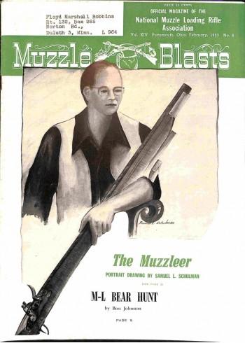 Muzzle Blasts, February 1953