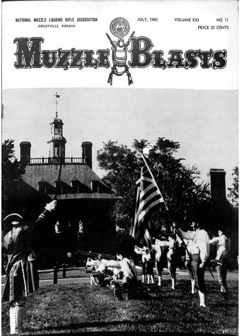 Muzzle Blasts, July 1960