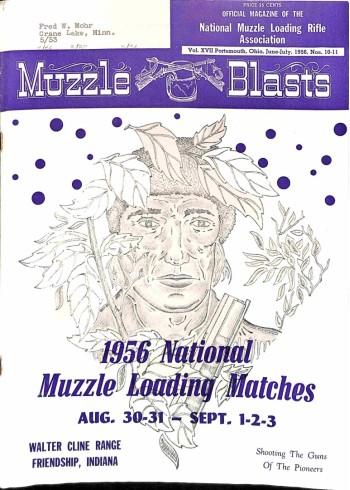 Muzzle Blasts, June 1956