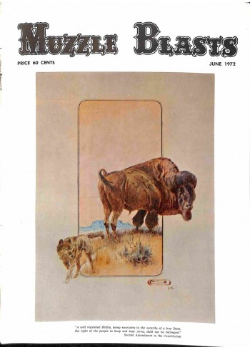 Cover Print of Muzzle Blasts, June 1972