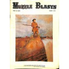 Cover Print of Muzzle Blasts, March 1973