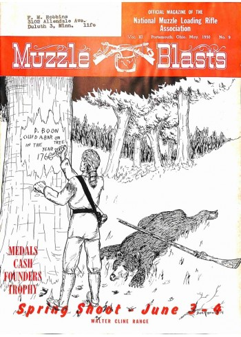Cover Print of Muzzle Blasts, May 1950