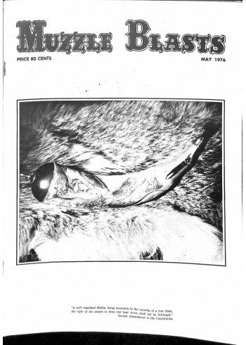 Muzzle Blasts, May 1976