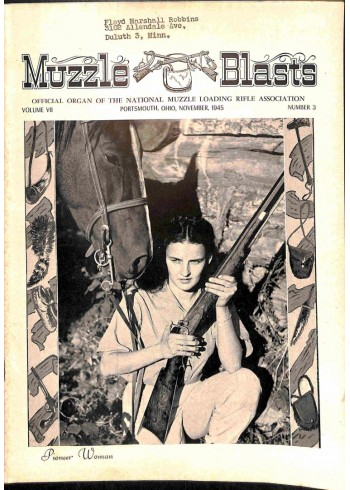 Muzzle Blasts, November 1945