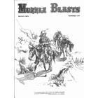 Cover Print of Muzzle Blasts, November 1977