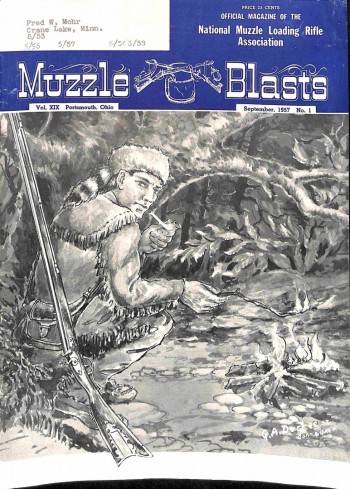 Muzzle Blasts, September 1957