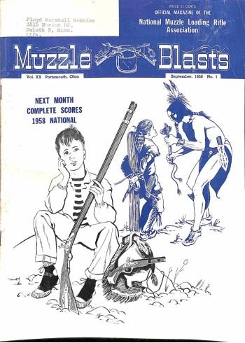 Muzzle Blasts, September 1958