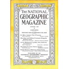National Geographic, August 1929
