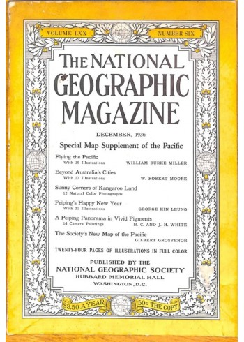 National Geographic, December 1936
