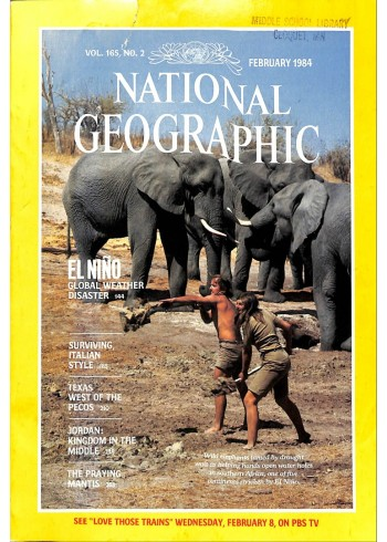 National Geographic, February 1984