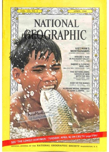 Cover Print of National Geographic, April 1968