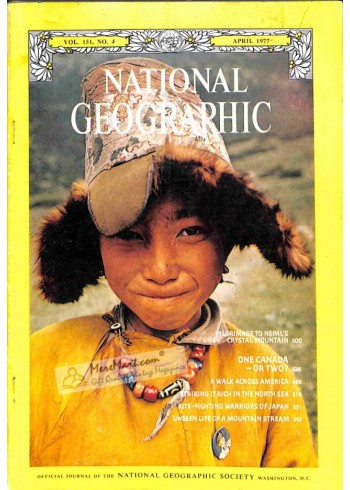 Cover Print of National Geographic, April 1977