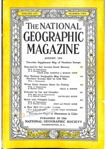 Cover Print of National Geographic, August 1945