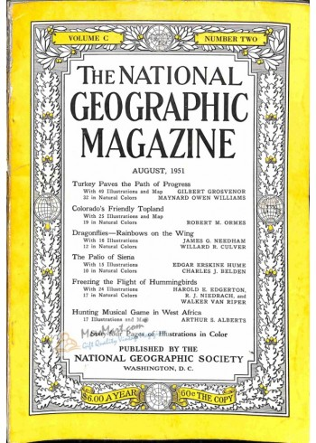 Cover Print of National Geographic, August 1951