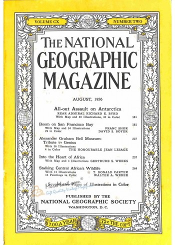 Cover Print of National Geographic, August 1956