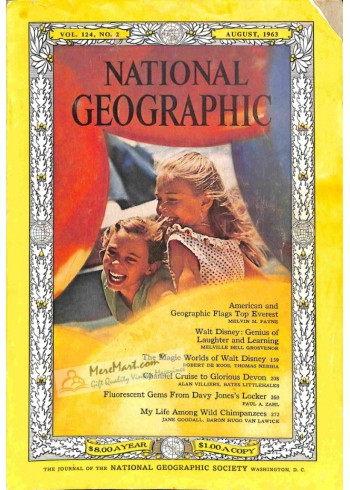 Cover Print of National Geographic, August 1963
