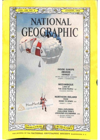Cover Print of National Geographic, August 1964