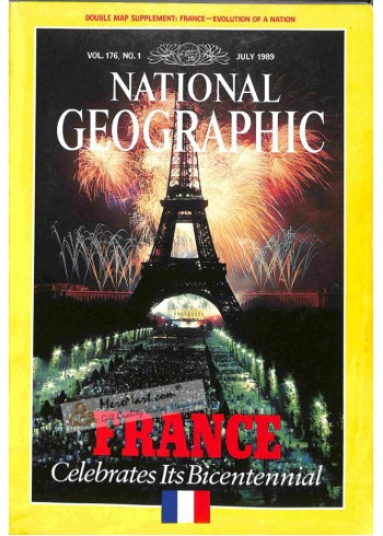 Cover Print of National Geographic, Bad year format.