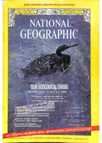 Cover Print of National Geographic, December 1970