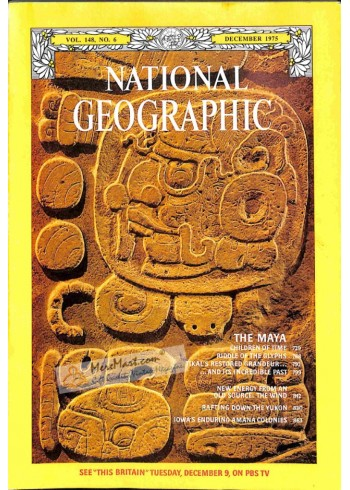 Cover Print of National Geographic, December 1975