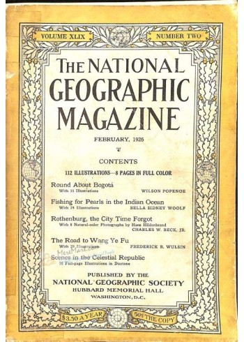 National Geographic, February 1926