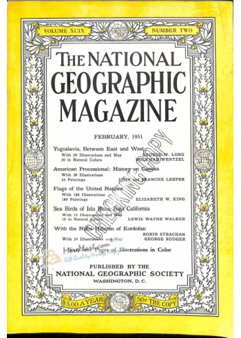 Cover Print of National Geographic, February 1951