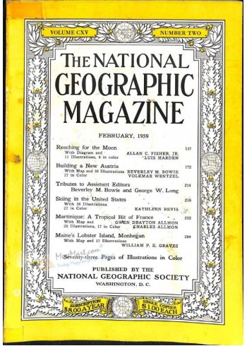 National Geographic, February 1959