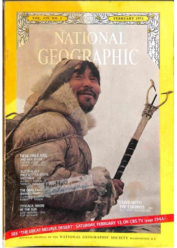 Cover Print of National Geographic, February 1971
