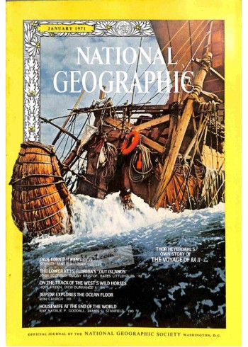 Cover Print of National Geographic, January 1971