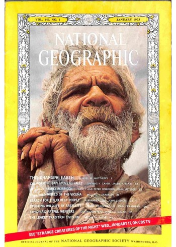 Cover Print of National Geographic, January 1973