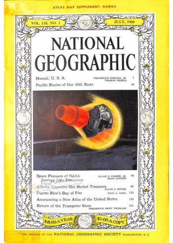 National Geographic, July 1960