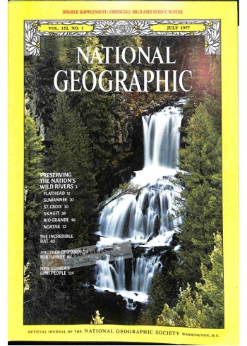 Cover Print of National Geographic, July 1977