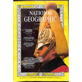 Cover Print of National Geographic Magazine, June 1966