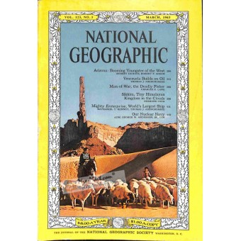Cover Print of National Geographic, March 1963