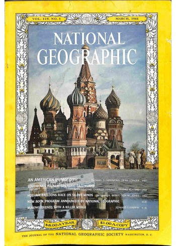 Cover Print of National Geographic, March 1966