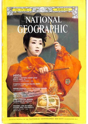 Cover Print of National Geographic, March 1970