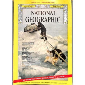 National Geographic Magazine, March 1974