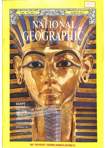 Cover Print of National Geographic, March 1977